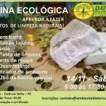 Oficina da Faxina Ecológica - A alquimia da limpeza - NOVA DATA - 14/11 na Daterra